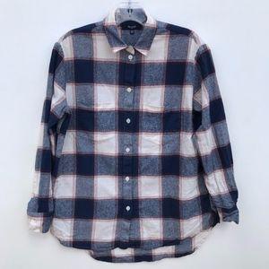 Madewell Oversized Boy Shirt Button Down #558